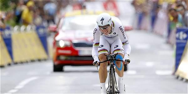 Tony Martin, ganador de la etapa 20 del Tour de Francia.