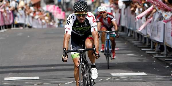 Óscar Sevilla ganó la quinta etapa de la Vuelta a Colombia 2014.