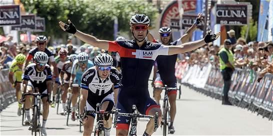 Matteo Pelucchi se impuso en la segunda etapa de la Vuelta a Burgos