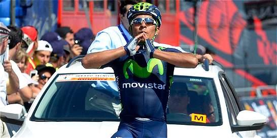 Nairo ganó la tercera etapa y es el nuevo líder de la Vuelta a Burgos