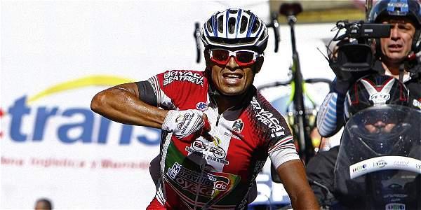 Fernando Camargo (Boyacá se atreve) se impuso en la novena etapa de la Vuelta a Colombia.