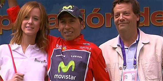 Nairo Quintana perdió el liderato de la Vuelta a Burgos