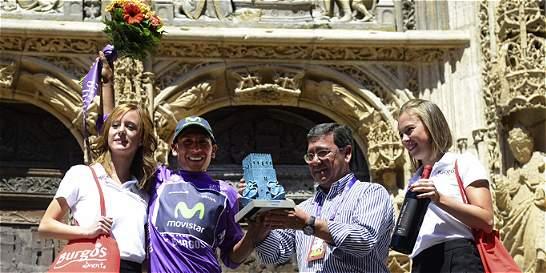 Nairo se preparó para la Vuelta a España con un triunfo en Burgos