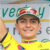 Brayan Hernández, nuevo campeón de la Vuelta del Porvenir