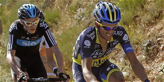 Contador y Froome comenzarán el 2015 en la Vuelta a Andalucía - ElTiempo.com