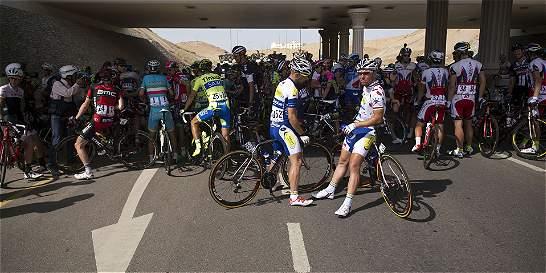 La quinta etapa del Tour de Omán fue suspendida por exceso de calor