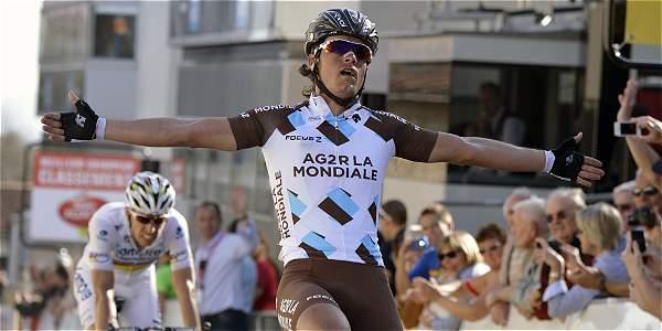 Carlos Betancur se estrenará en Europa en el 2015 en la Tirreno Adriático, no defenderá el título que logró el año pasado en la París Niza y quiere correr el Tour.