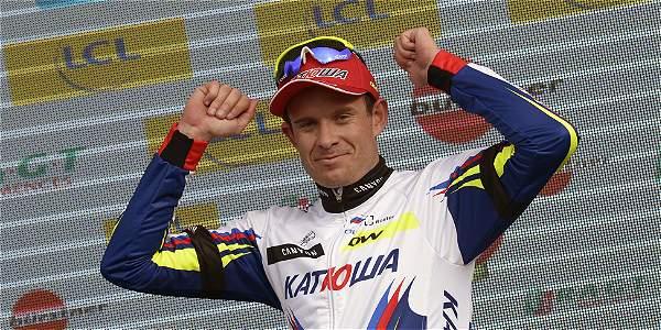 Alexander Kristoff, pedalista noruego.