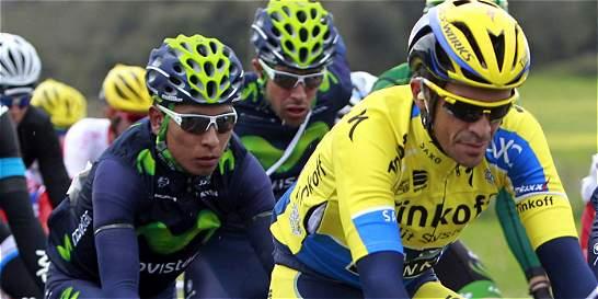 Nairo y Contador, último examen antes del Tour