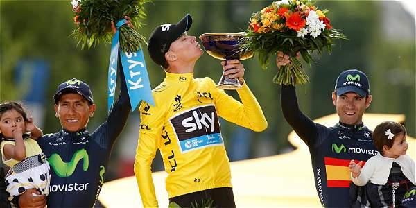 Nairo Quintana, ciclista boyacense.