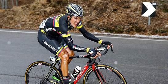 Cano y Duarte, líderes del Team Colombia en la Vuelta a España