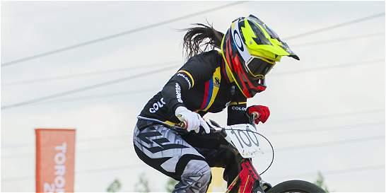 Segundo oro de Mariana Pajón en parada de Copa Mundo de BMX