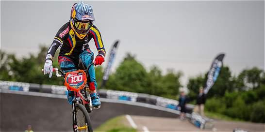 Mariana Pajón, campeona de la Copa Mundo de BMX