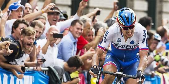 Peter Sagan, nuevo campeón mundial de ruta; Urán fue 32