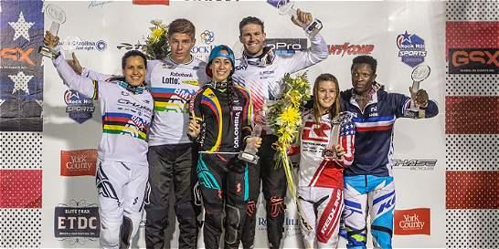Mariana Pajón volvió a su trono en la Copa Mundo de BMX