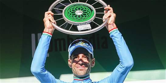 Vicenzo Nibali ganó el clásico de Il Lombardia