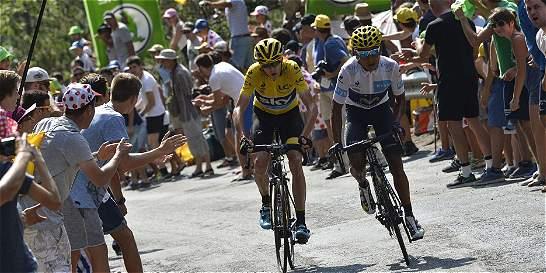 Nairo señaló 'directamente a Froome' como principal rival en el Tour