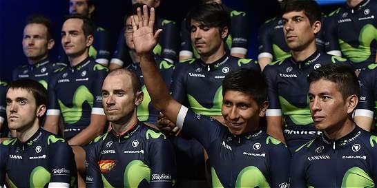 Cuatro colombianos en el 'dream team' del ciclismo mundial