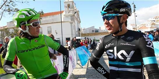 Járlinson Pantano, el mejor colombiano en la Vuelta al Algarve