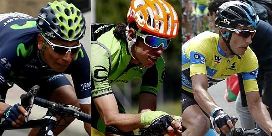 Los 'capos' del ciclismo colombiano ya probaron fuerzas en el 2016