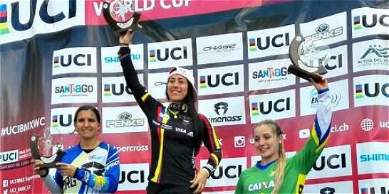 Pajón ganó el Pan American Continental Championship UCI de BMX