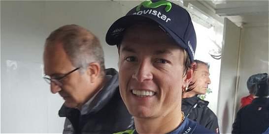 Colombiano Carlos Betancur, líder de la Vuelta a Castilla y León