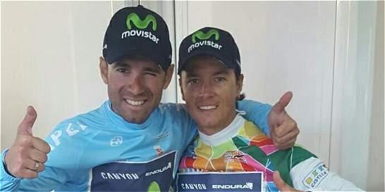 Carlos Betancur se mantiene de líder de la Vuelta a Castilla y León