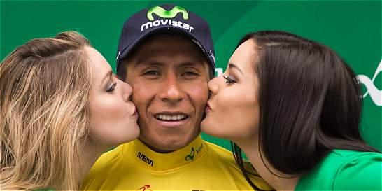 Nairo Quintana, nuevo líder de la Vuelta a Romandía