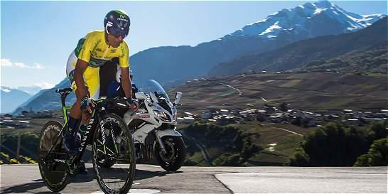 El colombiano Nairo Quintana sigue de líder en Romandía