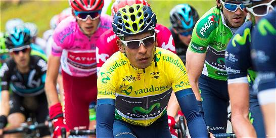 Nairo Quintana mantuvo el liderato del Tour a Romandía