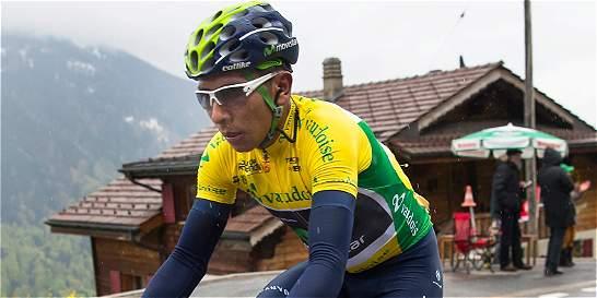 Nairo Quintana, cerca del título en la Vuelta a Romandía