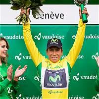 Nairo Quintana, campeón de la Vuelta a Romandía