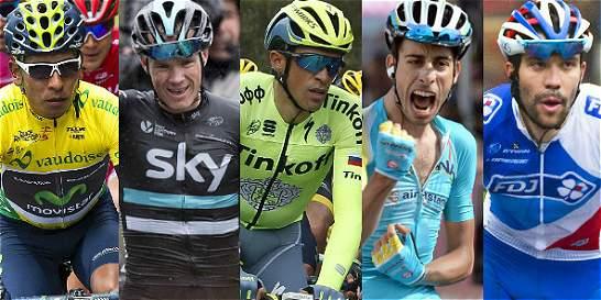 Lo que han hecho en esta temporada los favoritos para ganar el Tour