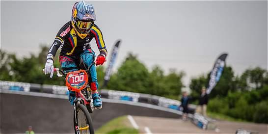 Mariana Pajón lidera equipo colombiano en Copa Mundo de BMX