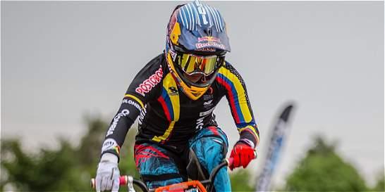 Mariana Pajón se cayó y no hará la Copa Mundo de BMX