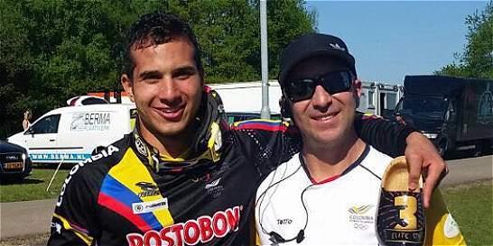 Carlos Ramírez, bronce en Copa Mundo de BMX