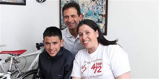 La odisea de los papás de Chaves, 30 horas de viaje para ver a su hijo