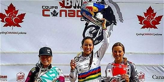 Segundo triunfo de Mariana Pajón en el Canadá Cup Series