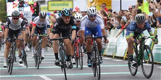 Etapa y liderato para Fernando Gaviria en la Vuelta a Polonia