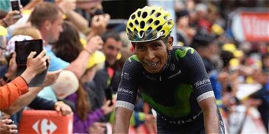 Nairo entra al podio del Tour de Francia; Bardet ganó la etapa 19