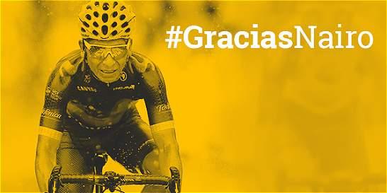 Los 10 podios de Nairo en la élite del ciclismo mundial