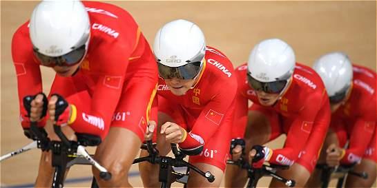 China se coronó campeón de ciclismo femenino de pista por equipos