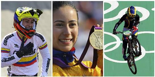 Mariana Pajón, en el olimpo del deporte colombiano
