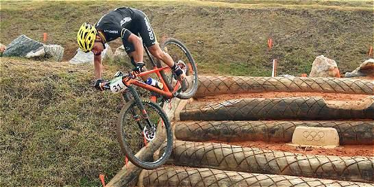 Jhonnatan Botero terminó quinto en ciclismo de montaña en Río