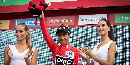 Darwin Atapuma, de gregario a líder de la Vuelta a España