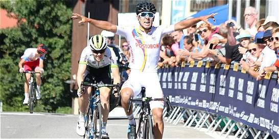 El colombiano Jhon Rodríguez ganó la quinta etapa del Tour de l
