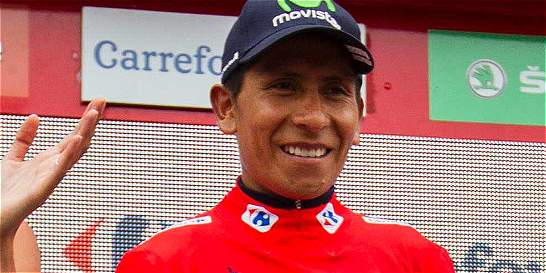 Nairo Quintana, de nuevo líder de la Vuelta a España
