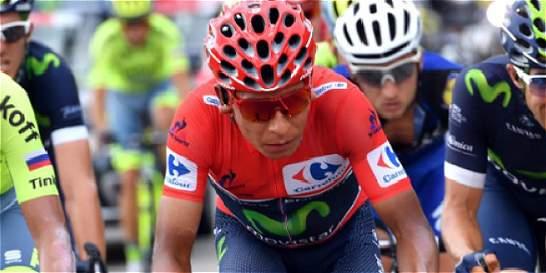 Líderes de la Vuelta corren pensando en la contrarreloj del viernes