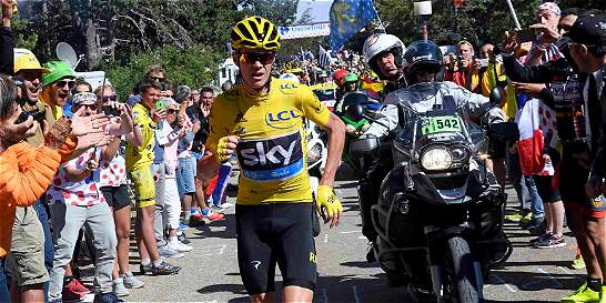 Froome, invitado a carrera atlética tras su 'exhibición' en el Ventoux