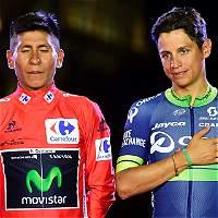 Dos colombianos en el podio de la Vuelta a España 27 años después